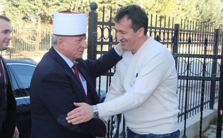 Kryetari i BFI-së takoi Blerim Bexhetin.