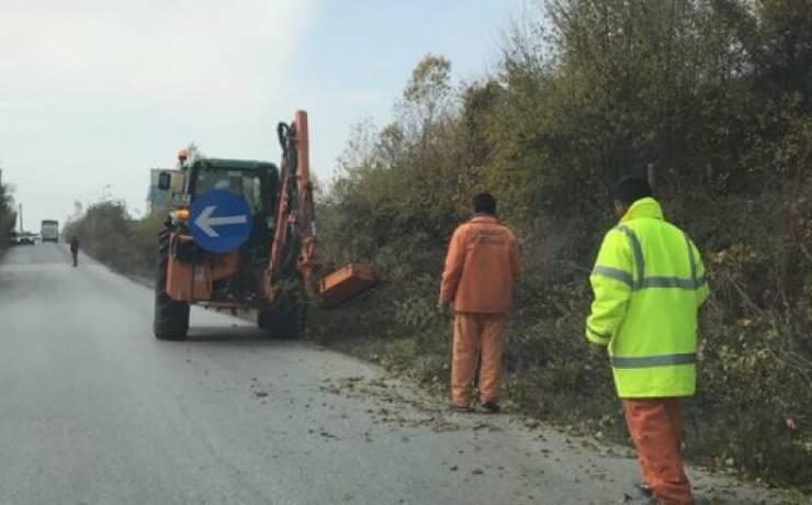 Fillon pastrimi i rrugës Saraj-Bojanë