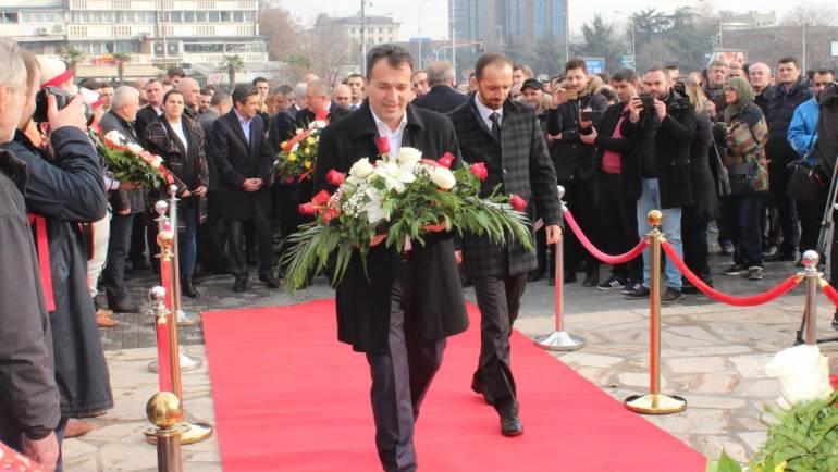 Kryetari i Komunës së Sarajit mori pjesë në përvjetorin e vdekjes së Skenderbeut.