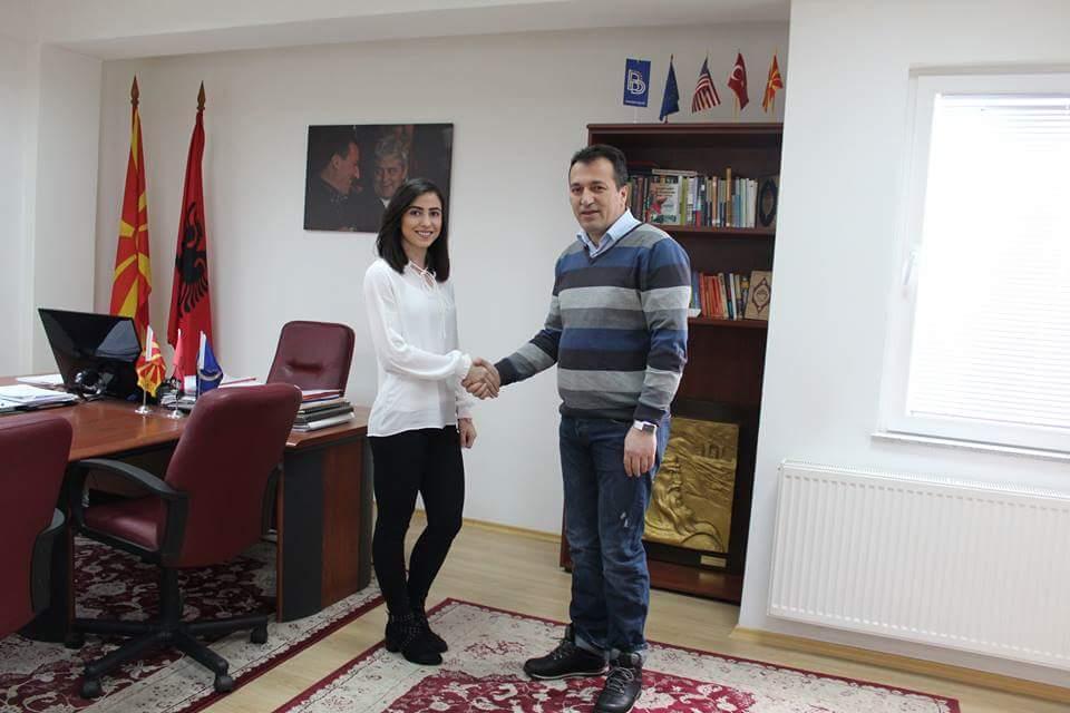 Blerim Bexheti: Drita Islami është krenaria e sportit në Saraj