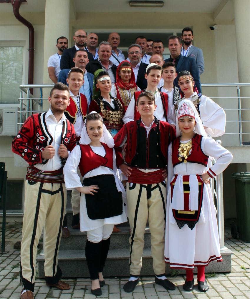 Komuna e Sarajit mirëpriti shoqëritë kulturore artistike