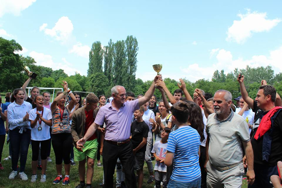 "Komuna e Sarajit organizoi Olimpiadën e 16, fitues Shkolla ""Sami Frashëri"""