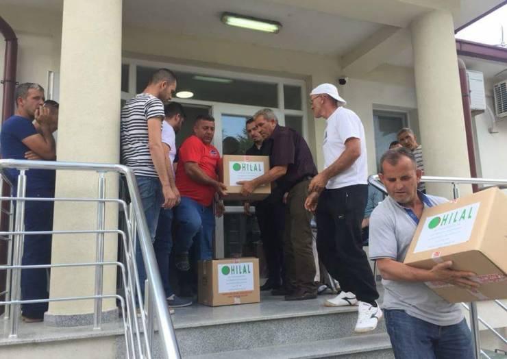 Komuna e Sarajit dhe OH 'Hilal', solidarizohen për Fitër Bajram me nevojtarë