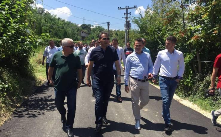 Komuna e Sarajit përfundon ndërtimin e rrugës në Lubin