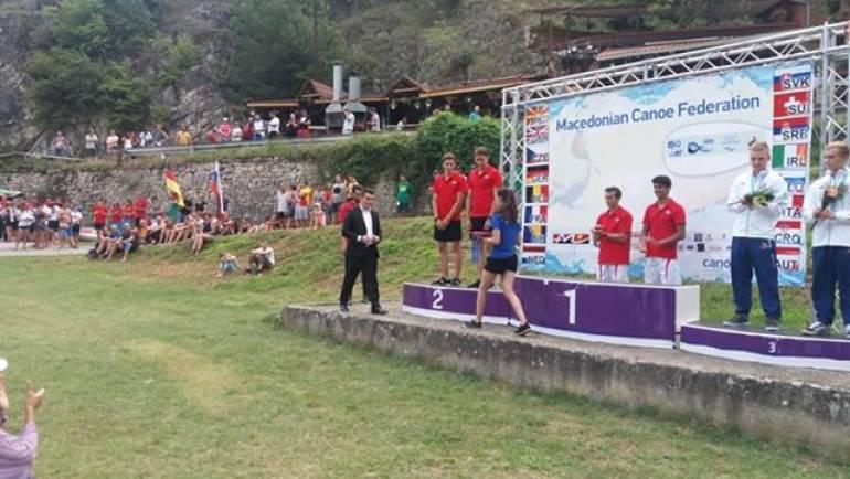 """Përfundoi Kampionati Europian në kajakë në qendrën për sport dhe rekreacion """"Matkë""""."""