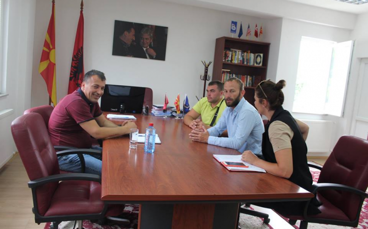 Kryetari Blerim Bexheti takoi përfaqsuesit e Federatës së Kajakëve të Maqedonisë
