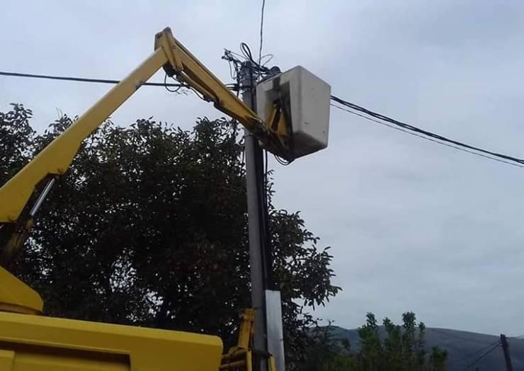 Fillon projekti i ndriçimit publik në Komunën e Sarajit