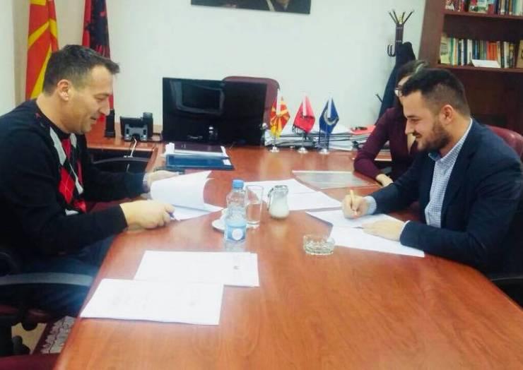 Memorandum bashkëpunimi në mes Komunës së Sarajit dhe ZIP Institute