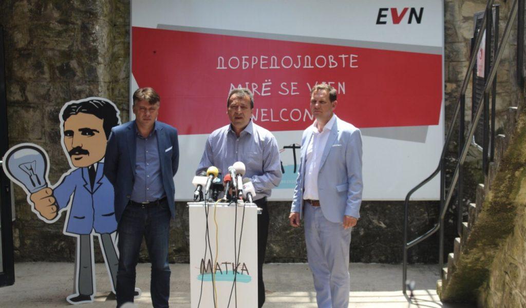 """Kryetari i Komunës së Sarajit Blerim Bexheti sot mori pjesë në hapjen e Qendras Ekspozuese për Energji Elektrike """"Matka"""" ."""