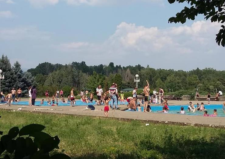 Liqeni Treska po frekuentohet nga qytetarët