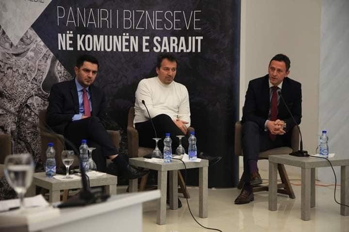 """Kryetari Blerim Bexheti sot mori pjesë në """"Panairin e bizneseve të Komunës së Sarajit"""""""