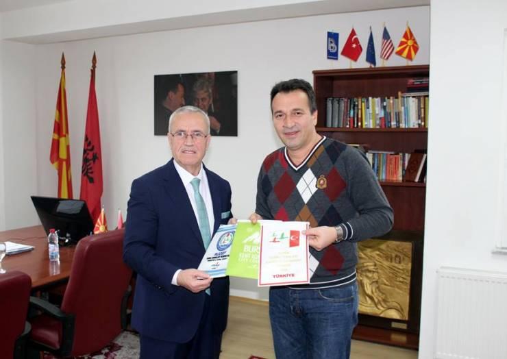 Kryetari i komunës së Sarajit z.Blerim Bexheti realizoi takim me zëvendës kryetarin e Këshillit të Qytetit të Bursës