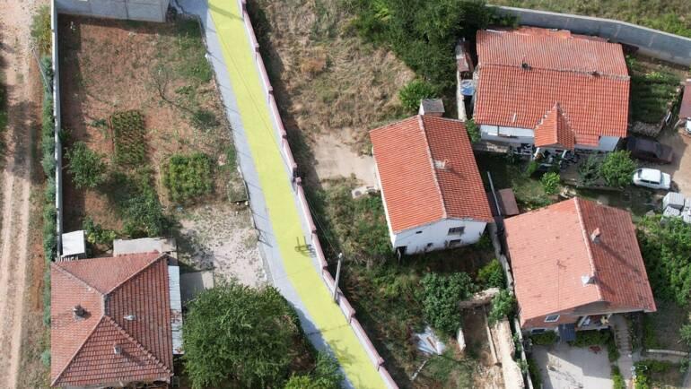 Përfundon bekatonizimi i një rrugice në vendbanimin Bojanë – sipërfaqe prej 400m2.