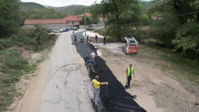 Përfundon zgjerimi i urës në hyrje të vendbanimit Semenisht